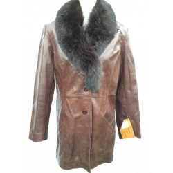 Manteau cuir Redskins