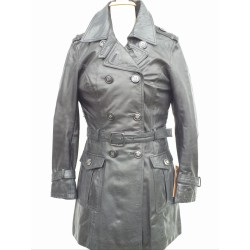 Manteau en cuir Oakwood T42