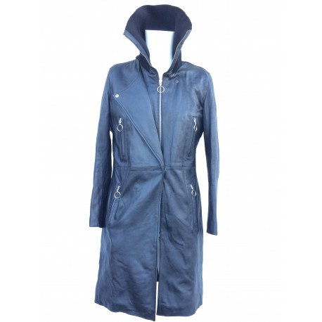 Manteau en cuir Oakwood