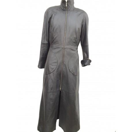 Manteau en cuir Redskins